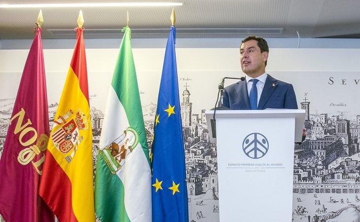 Moreno Bonilla, presidente de la Junta de Andalucía no está de acuerdo en contar con Juan José Cortés para la próxima legislatura y espera convencer a Pablo Casado