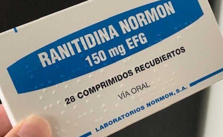 Ranitidina, medicamento retirado