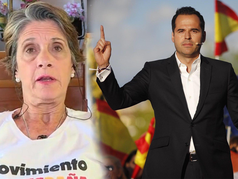 La franquista Pilar Gutiérrez, agradecidísima con PP y Ciudadanos por alertar de la quema de iglesias