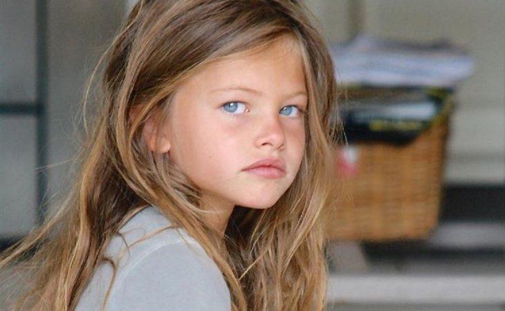 Thylane Blondeau cuando era una niña