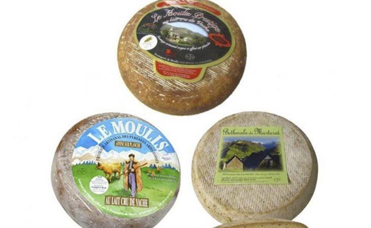 Los tres quesos, procedentes de Francia, sospechos de contener la bacteria de la listeriosis