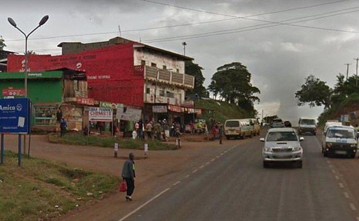 Muranga, localidad keniana donde Moses perdió sus genitales tras una noche loca y agitada