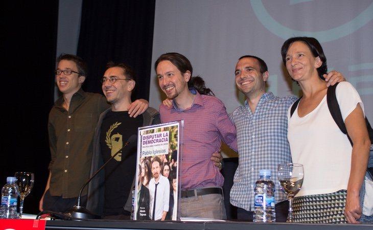 Monedero es el único fundador de Podemos que mantiene amistad con Pablo Iglesias