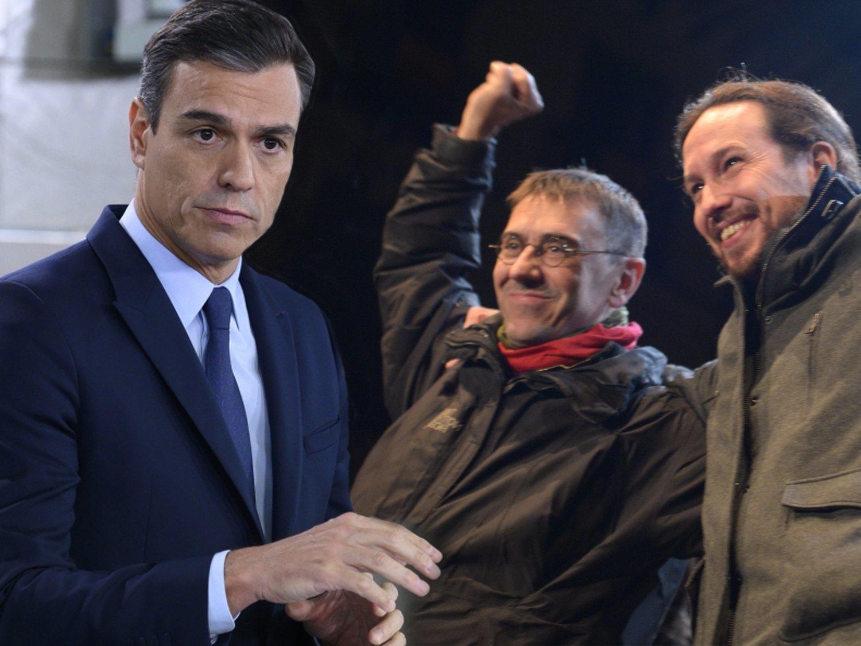 """Monedero: """"Sánchez veta a Iglesias porque teme su brillantez. Tiene un problema de autoestima"""""""