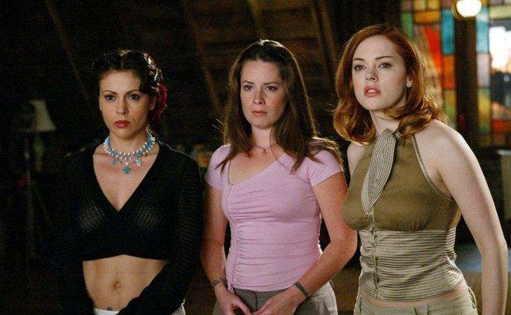 Phoebe, Piper y Paige en 'Embrujadas'
