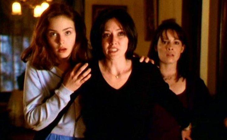 Phoebe, Prue y Piper en 'Embrujadas'