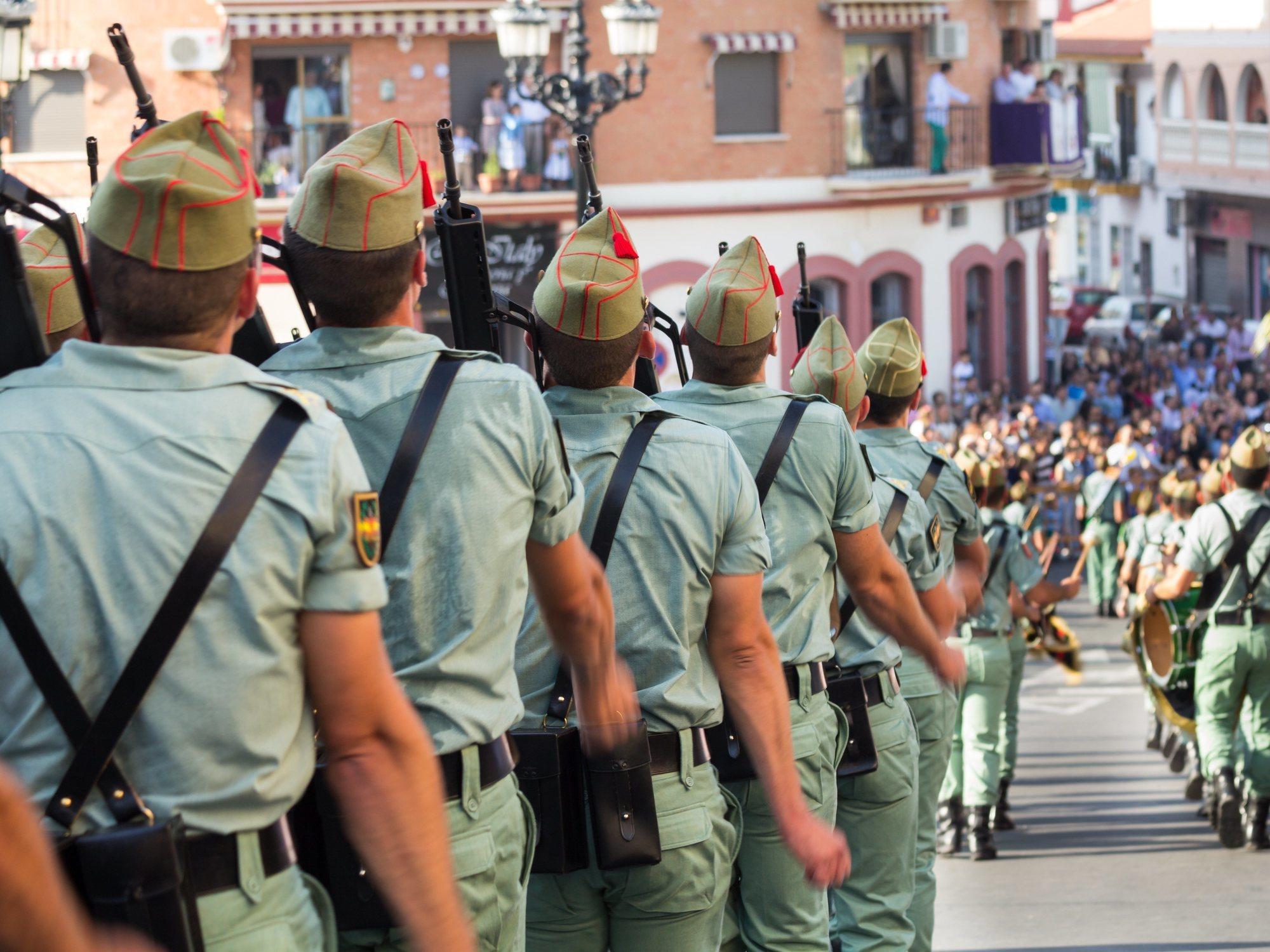 Tres años de prisión para los cabos de la Legión por meter 320 kilos de hachís por Ceuta