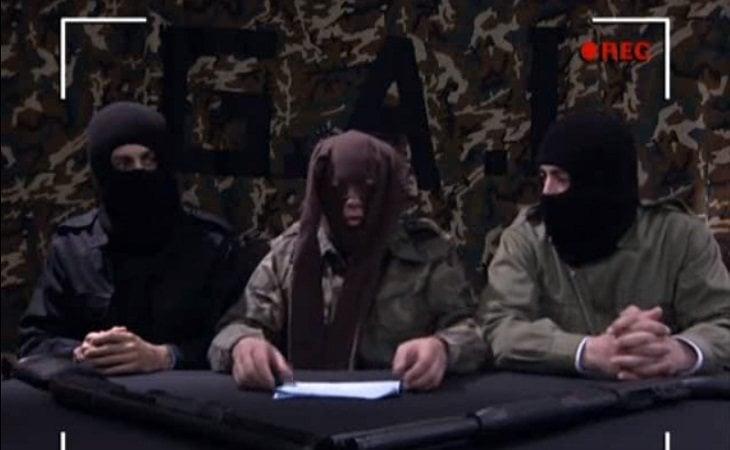 Lucas, Mariano y Paco como terroristas en 'Los hombres de Paco'