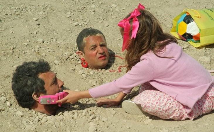 Paco y Mariano enterrados por la mafia en 'Los hombres de Paco'