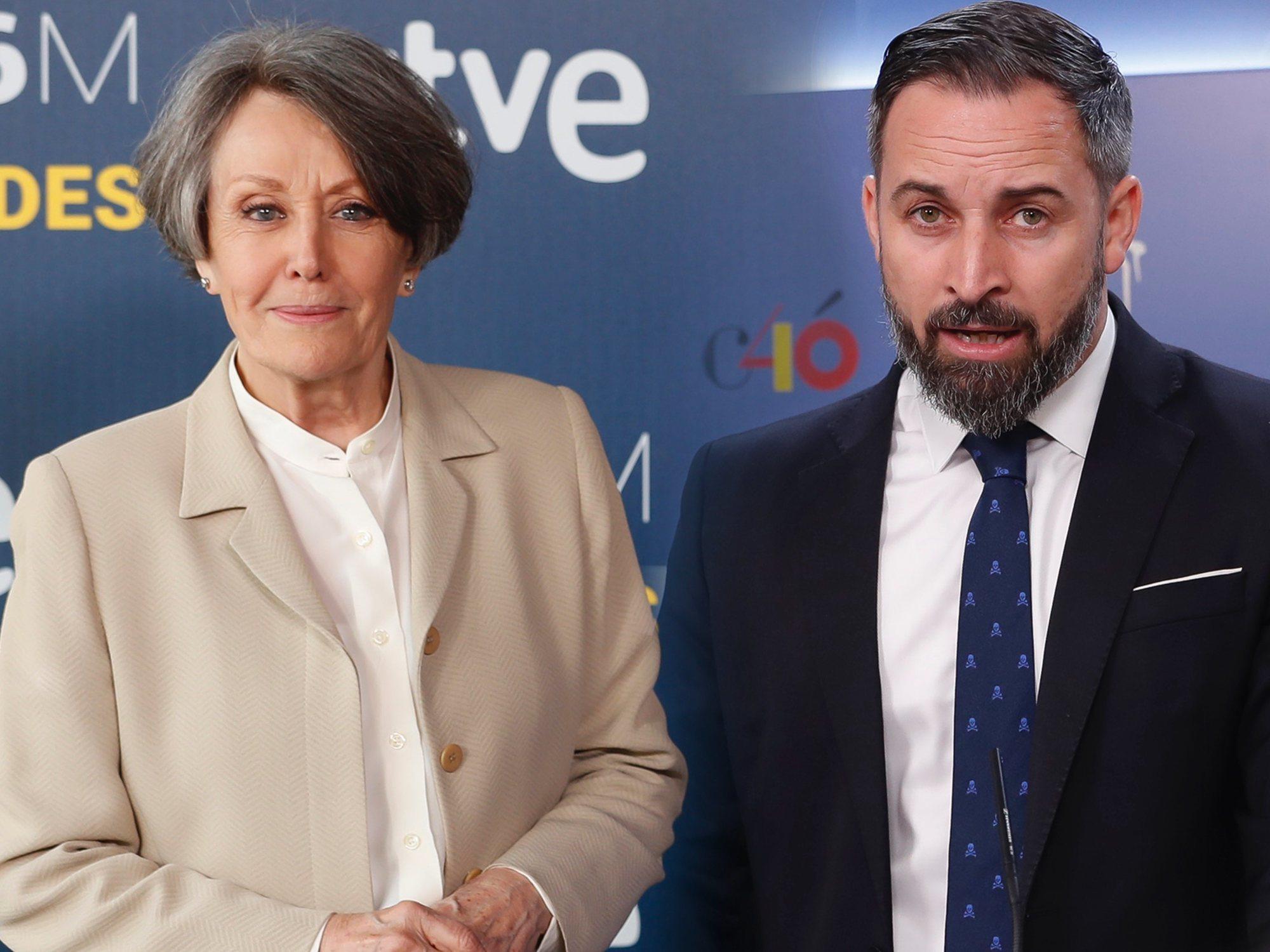 """RTVE ya no se referirá a VOX como """"extrema derecha"""""""
