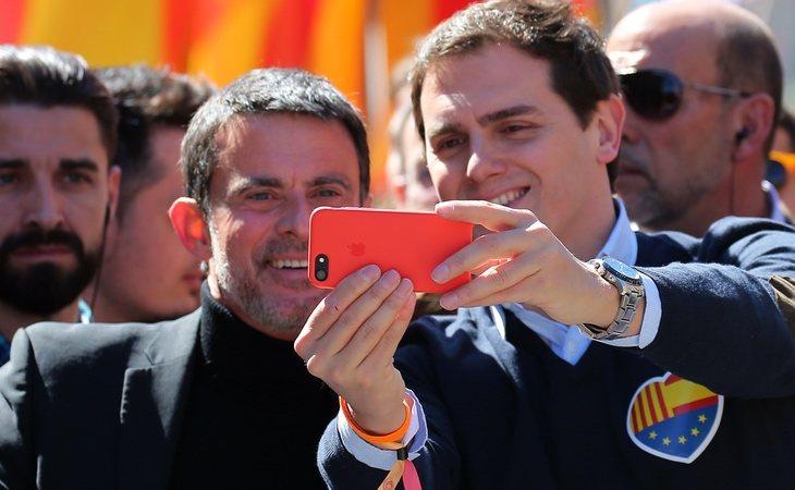 Manuel Valls y Albert Rivera, el mayor divorcio en Ciudadanos