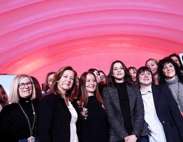 En las elecciones catalanas de 2017, Arrimadas ponía el foco de su candidatura sobre las mujeres
