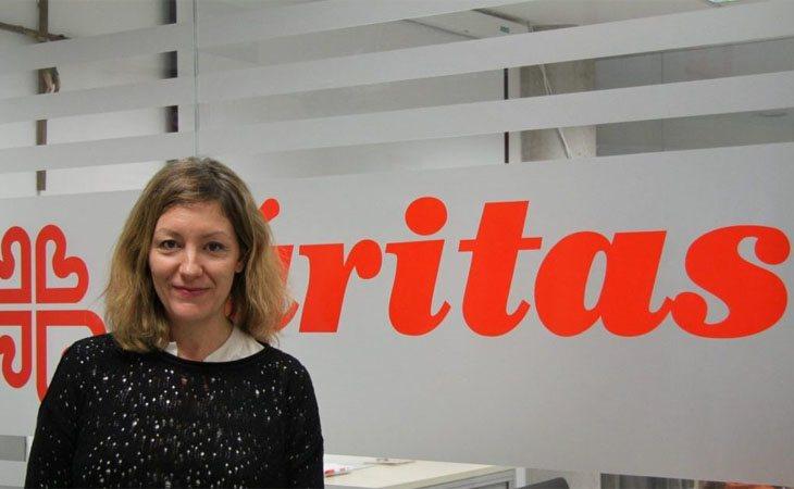 Natalia Peiro, secretaria general de Caritas