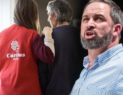 Cáritas responde a VOX: no son los extranjeros los que copan las ayudas sociales
