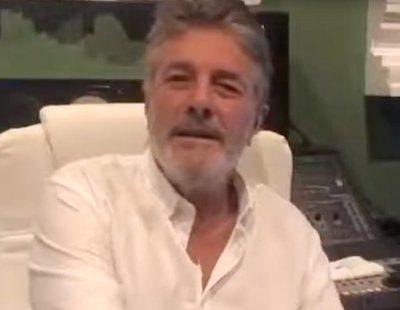 El cantante Francisco crea su propia versión del himno de España poniéndole letra