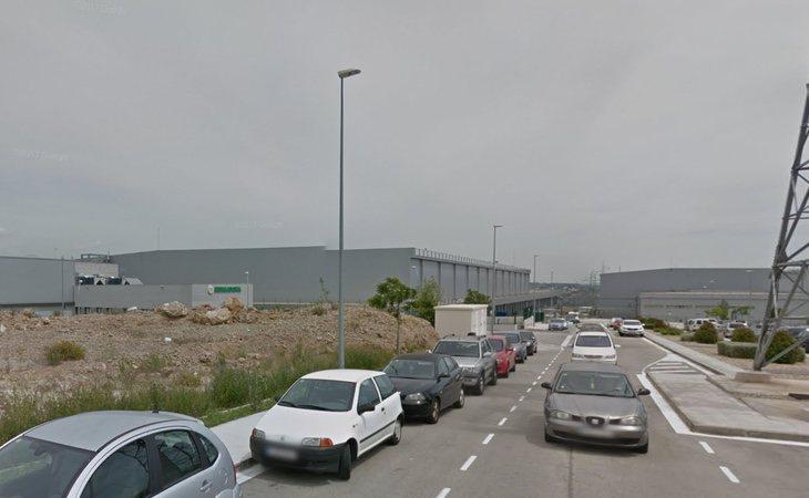 El parque logístico de Mercadona en Abrera (Barcelona), donde Tania acudía cada día a trabajar
