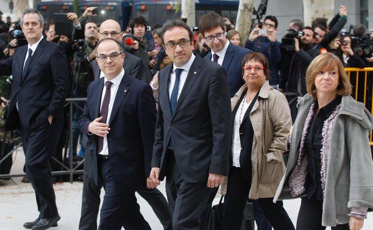 Ex consellers de la Generalitat condenados por el procés