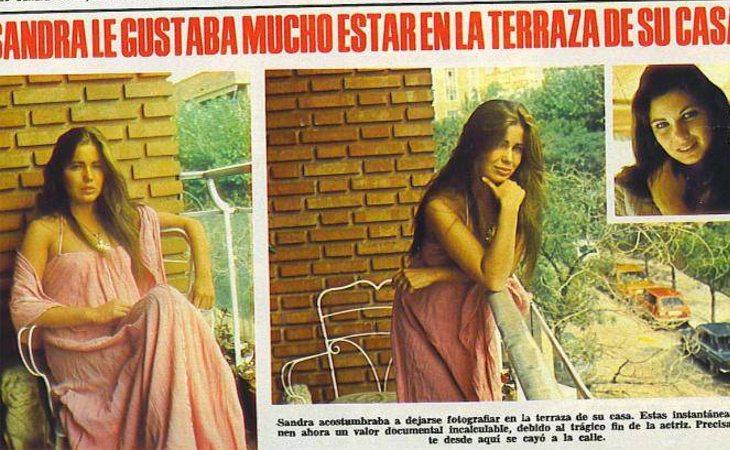 La actriz se precipitó desde su balcón, ubicado en el cuarto piso de un bloque de viviendas en el centro de Madrid