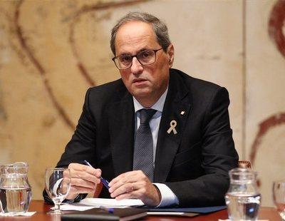 El Govern asegura que carga contra los manifestantes para evitarles el delito de sedición