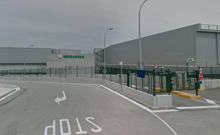 Almacén de Mercadona en el centro Logístico de Abrera | Google Maps