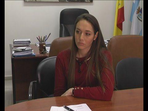 Cayetana Marmolejo en el Ayuntamiento de Jimena de la Frontera