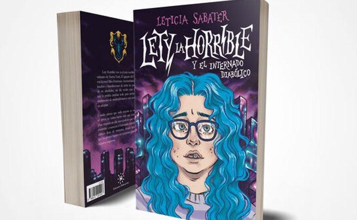 'Lety la horrible y el internado diabólico', el libro de Leticia Sabater