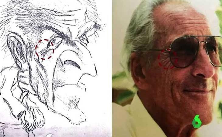 El dibujo y el ciudadano suizo