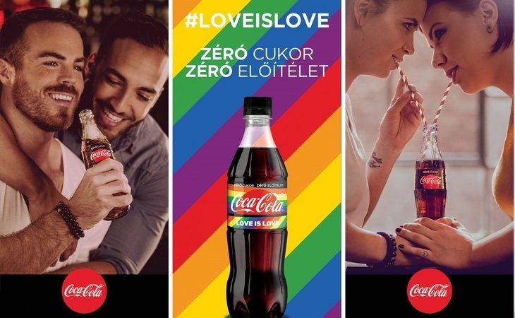 Campaña 'Cero azúcar, cero prejuicios' de Coca-Cola Hungría