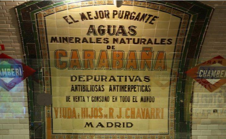 La estación de Chamberí está abierta como museo y admite visitas | Fuente: Metro de Madrid