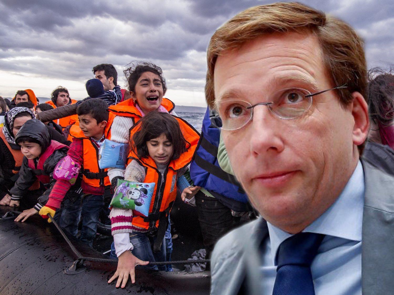 El plan de Almeida para expulsar a refugiados políticos de Madrid, la mayoría venezolanos