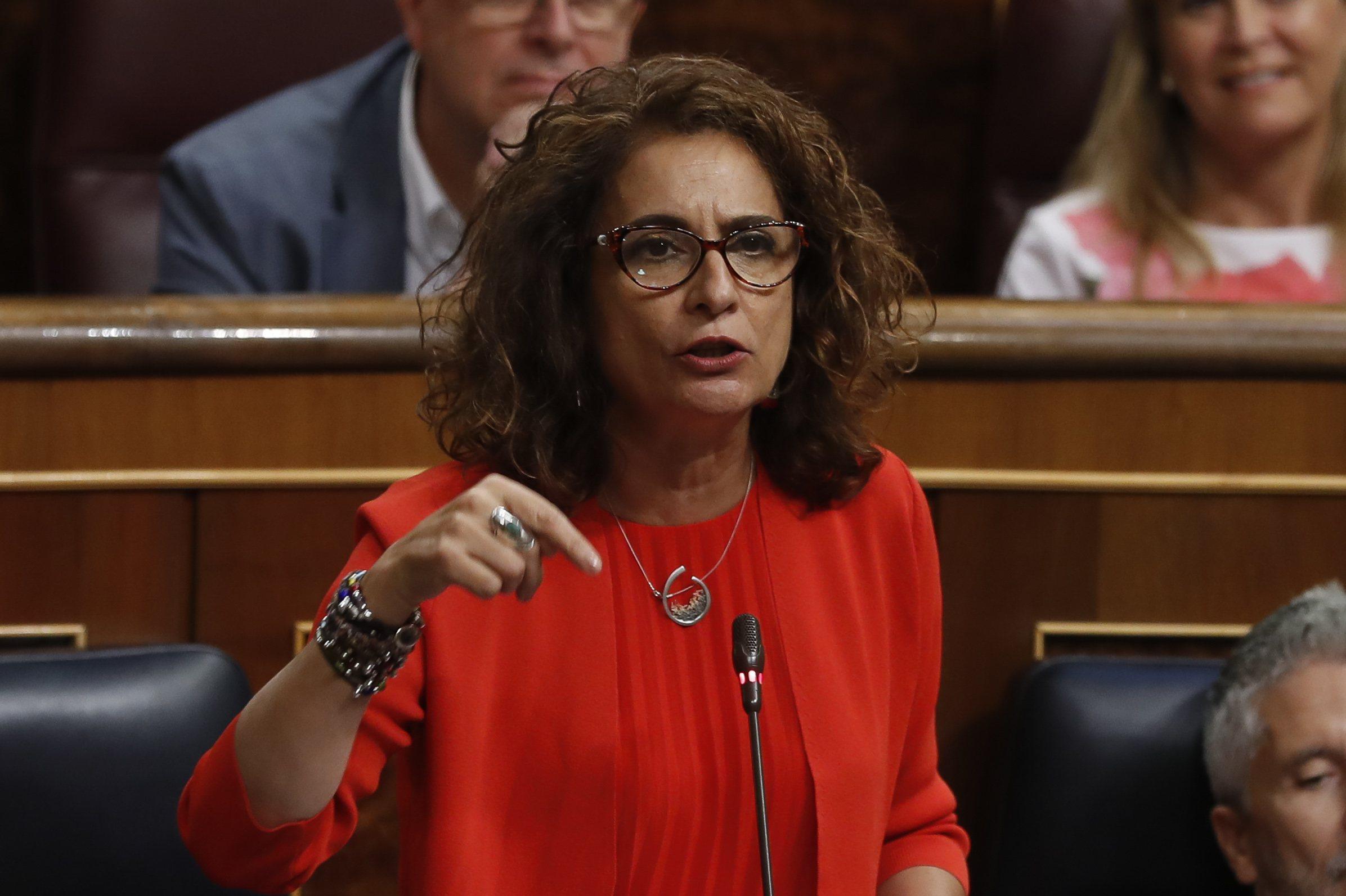 La ministra de Hacienda en activo, María Jesús Montero, en una imagen de archivo
