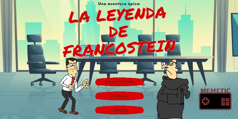 La Leyenda de Francostein salió en junio | Fuente: Play Store