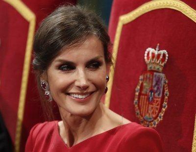 La mirada asesina de la reina Letizia que inquieta a las redes: ¿Maléfica o el Joker?