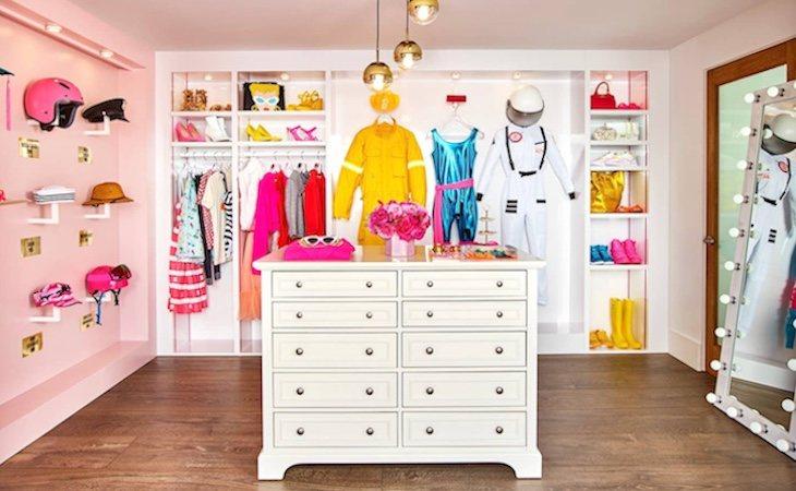 El vestidor de Barbie también estará disponible
