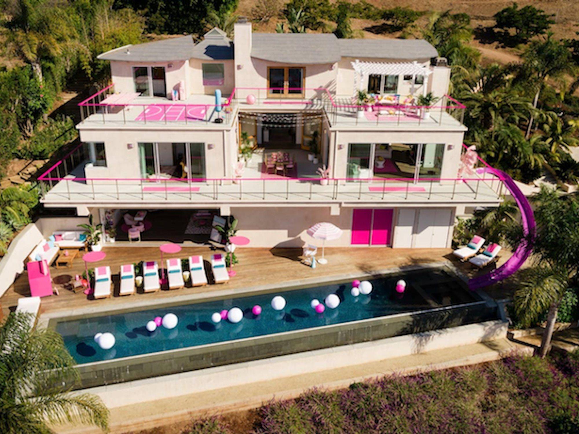 La casa de Barbie existe y ahora puedes alquilarla