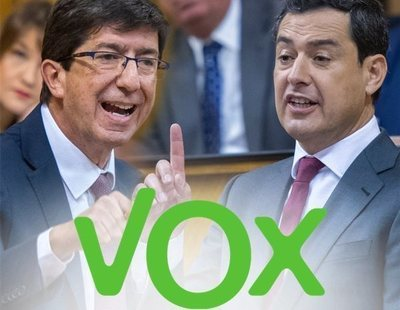 Caza y toros en las aulas, pin parental y violencia intrafamiliar: el acuerdo entre VOX, PP y Cs en Andalucía