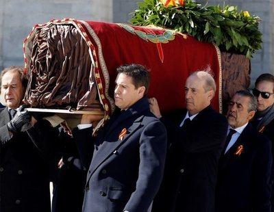 Así ha sido la exhumación de los restos de Franco del Valle de los Caídos