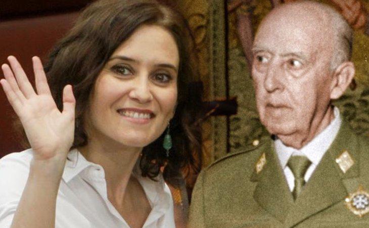 Isabel Díaz Ayuso califica la exhumación de Franco de