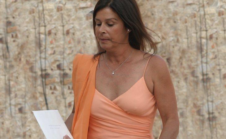 Merry Martínez Bordiú se ha encarado a la ministra y las personas que exhumaban a Franco calificando los actos de