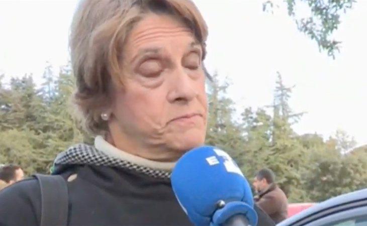 La franquista Pilar Gutiérrez asegura que la exhumación es una