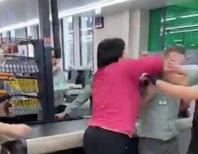 Agresión en Mercadona: roba y golpea a los empleados cuando la pillan