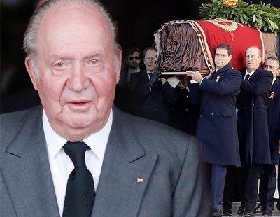 """Juan Carlos I, sobre la exhumación de Franco: """"Espero que no me muden en 40 años"""""""