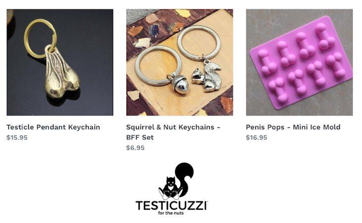 Algunos artículos de la web de Testicuzzi