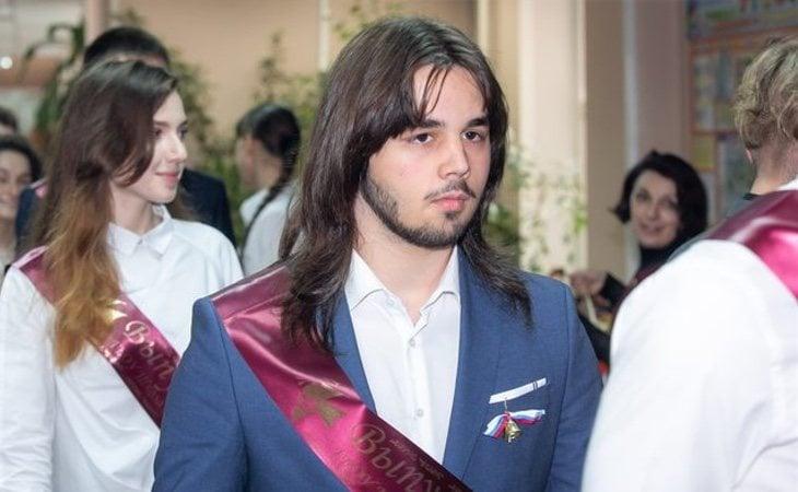 Korablev estudiaba en el Liceo No.654 de Moscú