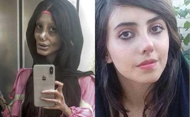 Sahar Tabar se encuentra encerrada en una cárcel iraní por el montaje