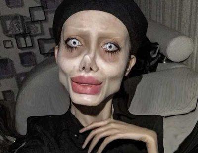 """La Angelina Jolie zombie iraní enfrenta pena de muerte: """"Mi madre dijo que parara, no hice caso"""""""