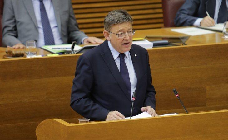Ximo Puig ha criticado a Quim Torra por su trabajo para extender el procés a la Comunidad Valenciana