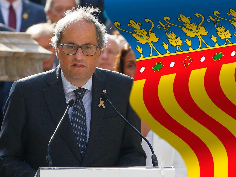 Preocupación por el trabajo de Torra para extender el procés a la Comunidad Valenciana