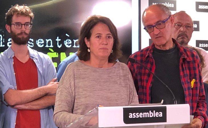 Elisenda Paluzie considera que los altercardos permiten internacionalizar el conflicto en Cataluña
