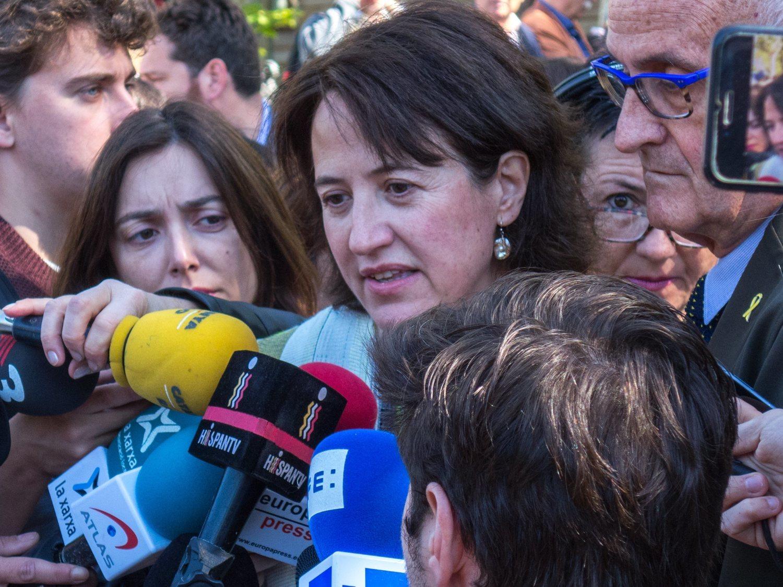 """La presidenta de la ANC celebra los altercados de Barcelona: """"Hacen visible el conflicto"""""""